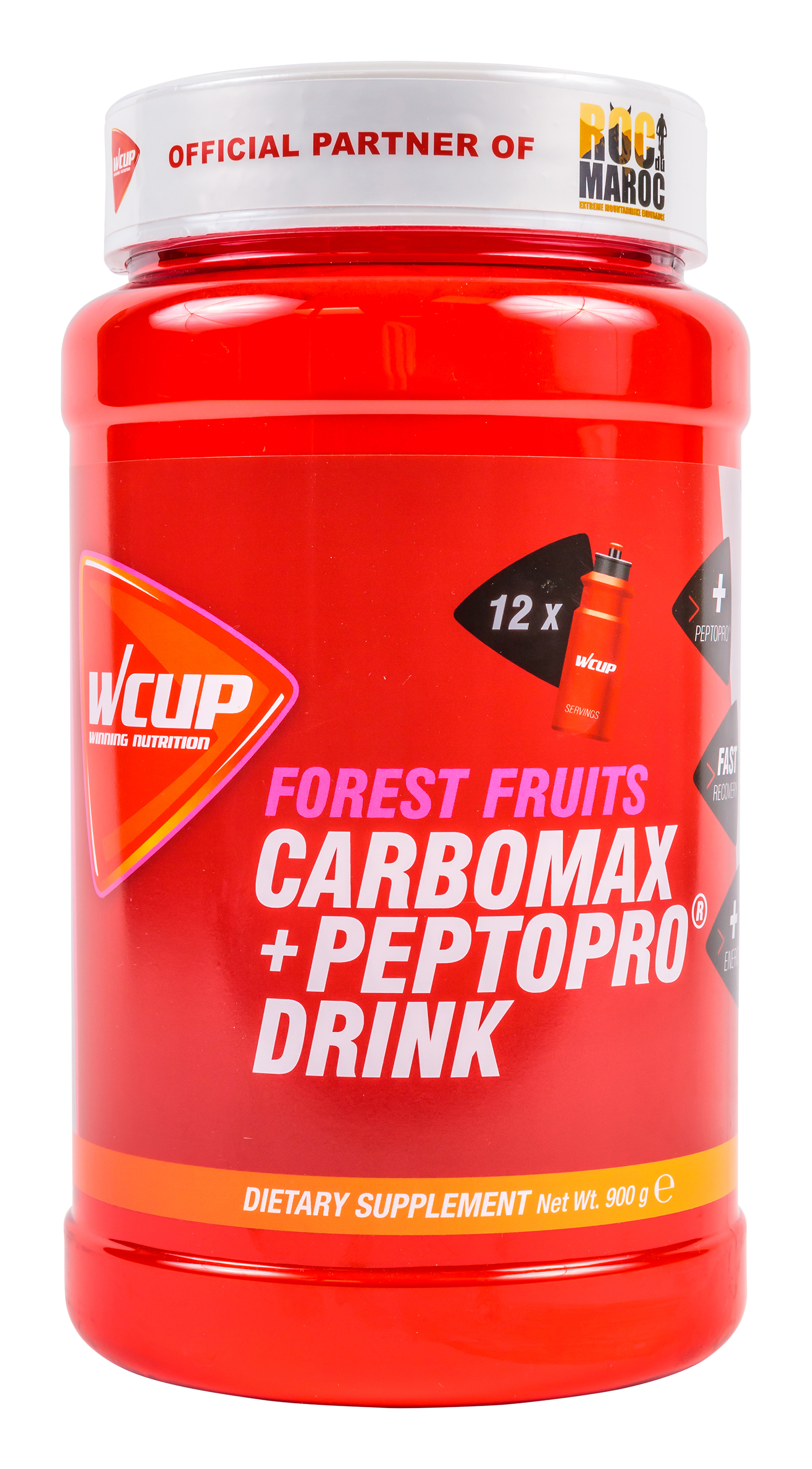 Carbomax + PeptoPro Drink Forest Fruits 900 G