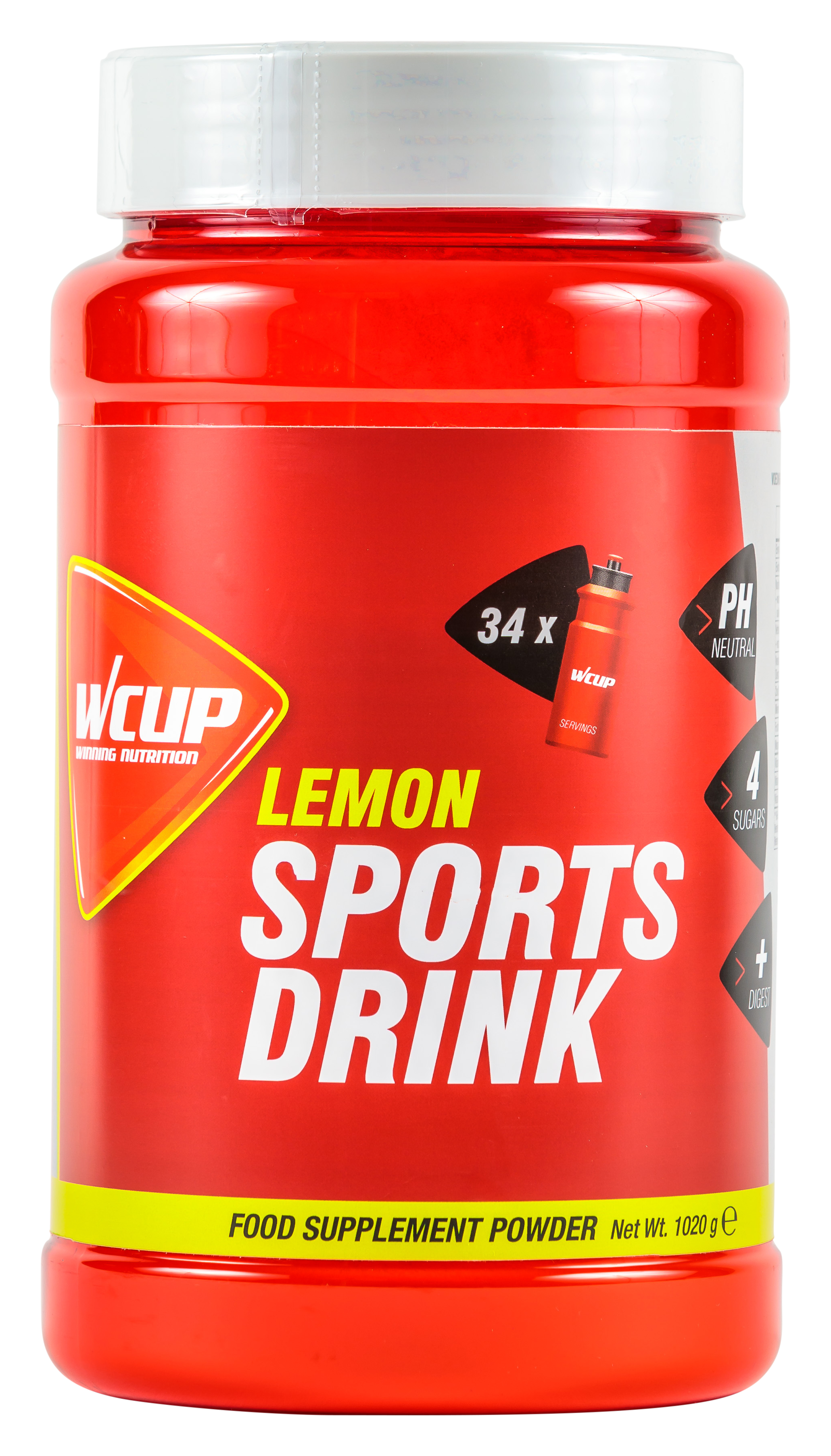 Sports Drink Lemon 1020 G