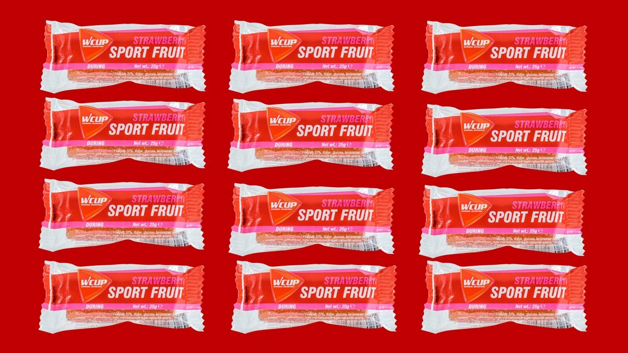 Sport Fruit Strawberry 10+2