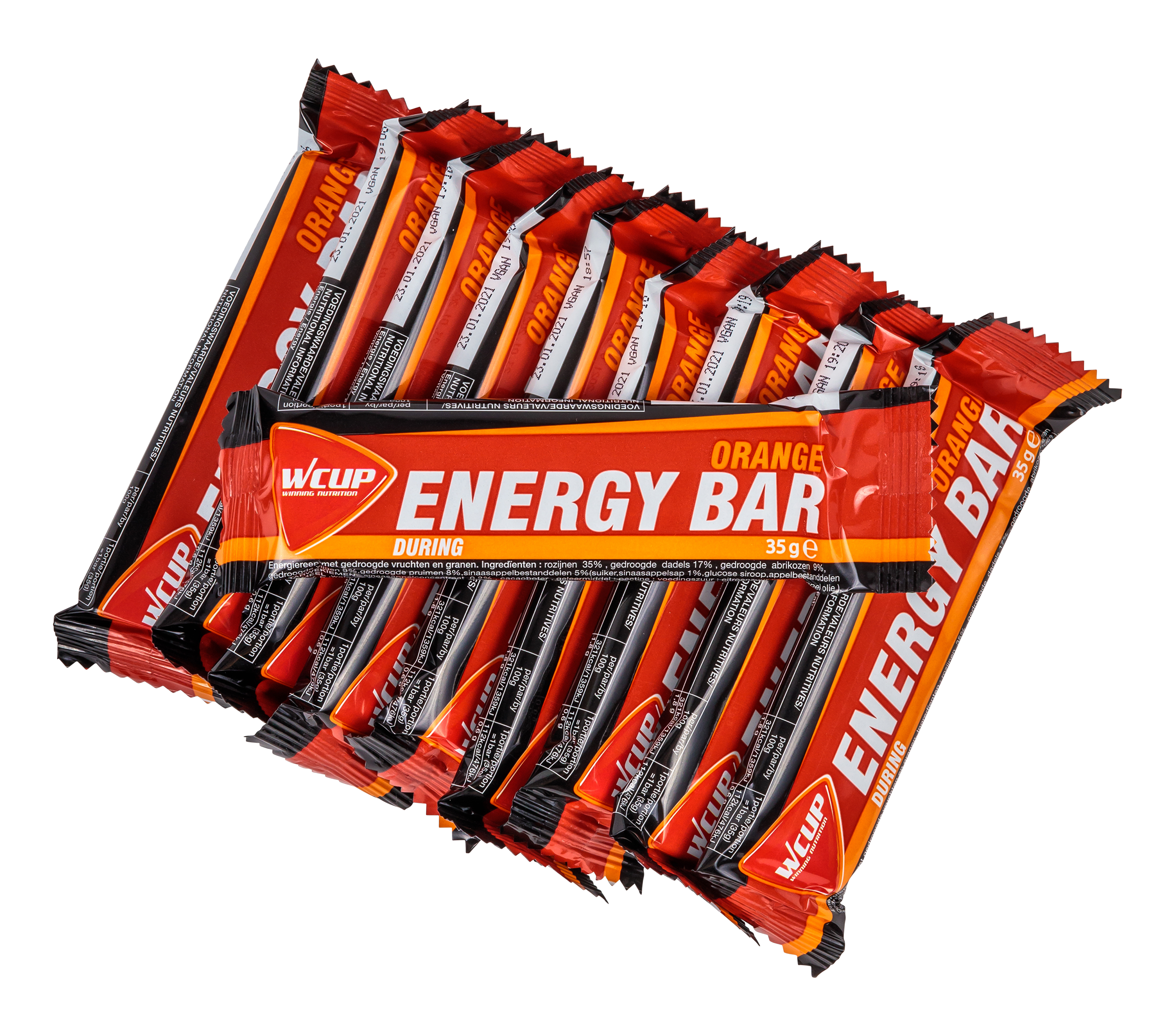 Energy Bar Orange (10 stuks)