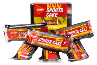 Sports Cake Banana (6 pièces)