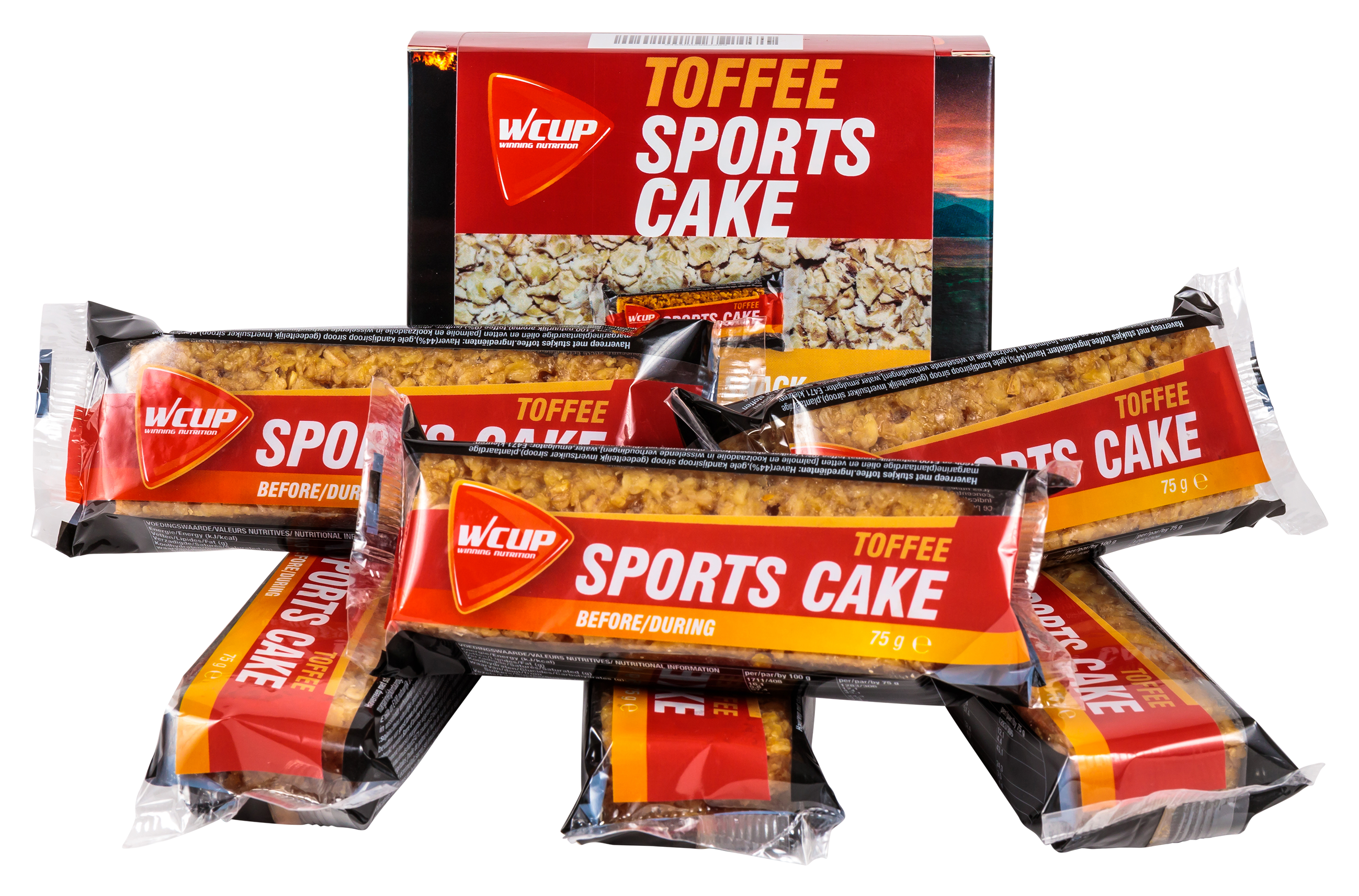 Sports Cake Toffee (6 pièces)