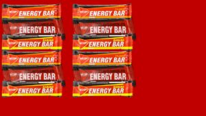 Energy bar 10 x 35 G Mix Hazelnut-Chocolate/Orange/Banaan