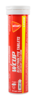 WCUP ELECTROLYTE TABLETS CITRON